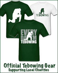 Official Tebowing Gear